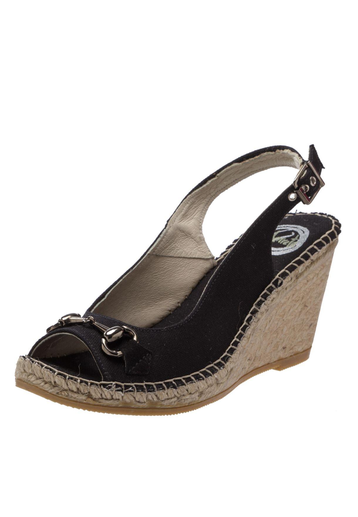 941597d74f82 Shop Vidorreta black Casual Wedge Sandals for Women in Bahrain -  VI054SH26QSN