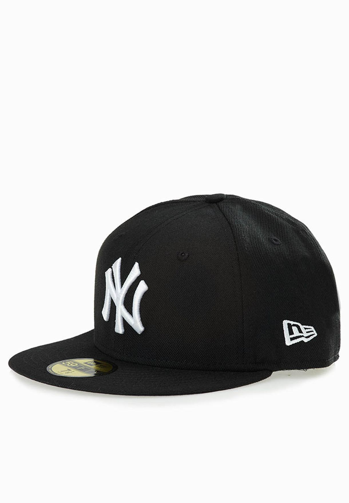 ceb2dcfd3ff62b Shop New Era black 59Fifty New York Yankees Cap for Men in Saudi ...