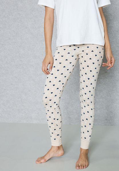 Heart Printed Pyjama