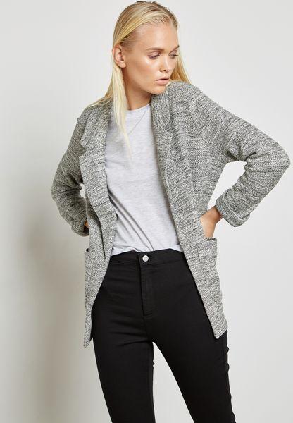 Longline Textured Jacket