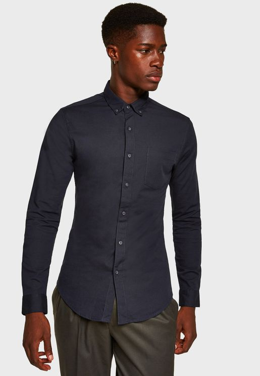 Oxford Muscle Fit Shirt