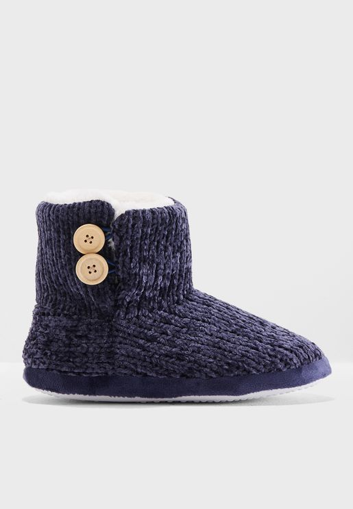 Chenille Booties