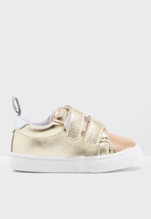 Infant Metallic Sneaker