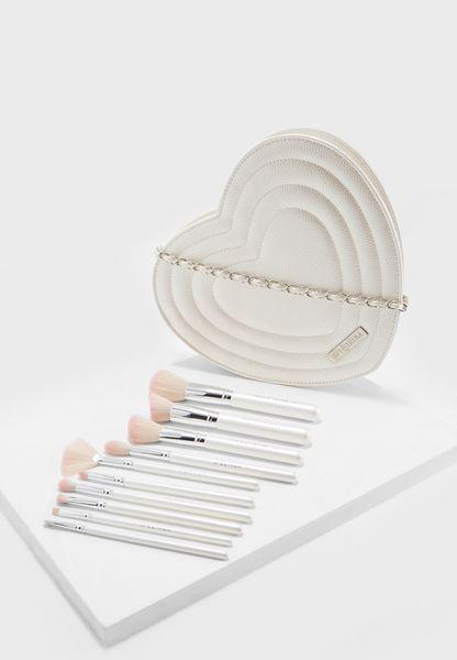 10 Pack Ultimate Bridal Make Up Brushes