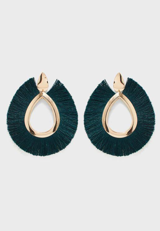Dianne Big Drop Earrings
