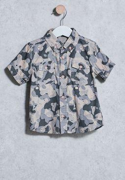Infant Camu Shirt
