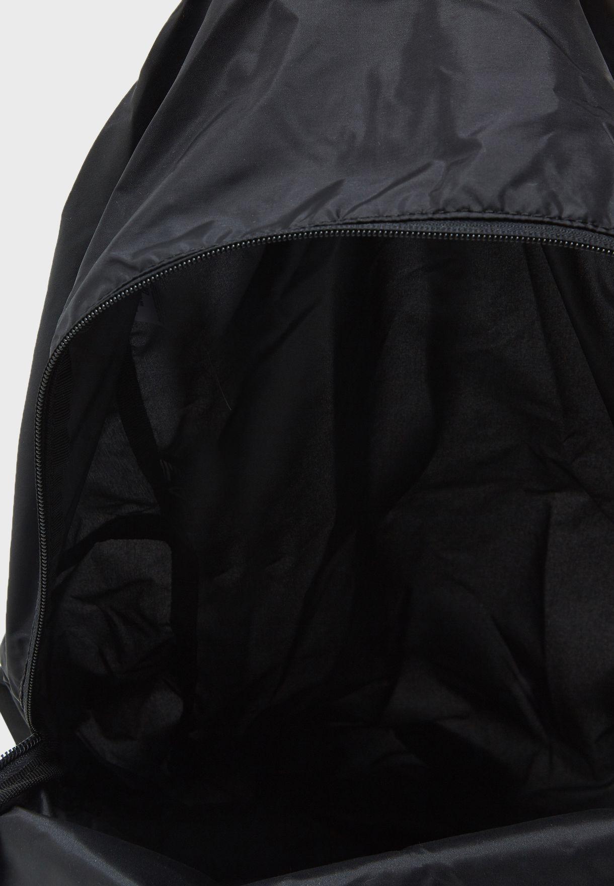 5ad1747b17f5 Shop Ea7 Emporio Armani black Train Foldable Backpack CC801-245002 ...