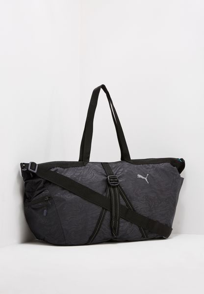 Shop Puma Black Fit At Workout Bag 07470201 For Women In Saudi