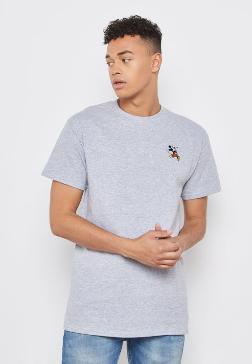 Mickey Mouse Embroidered T-Shirt