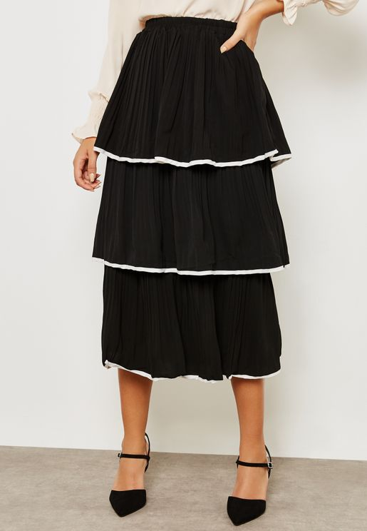 Teired Ruffle Skirt