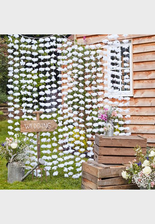Floral Backdrop Photobooth