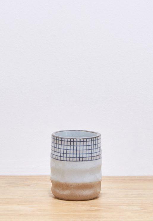 Mini Check Mug