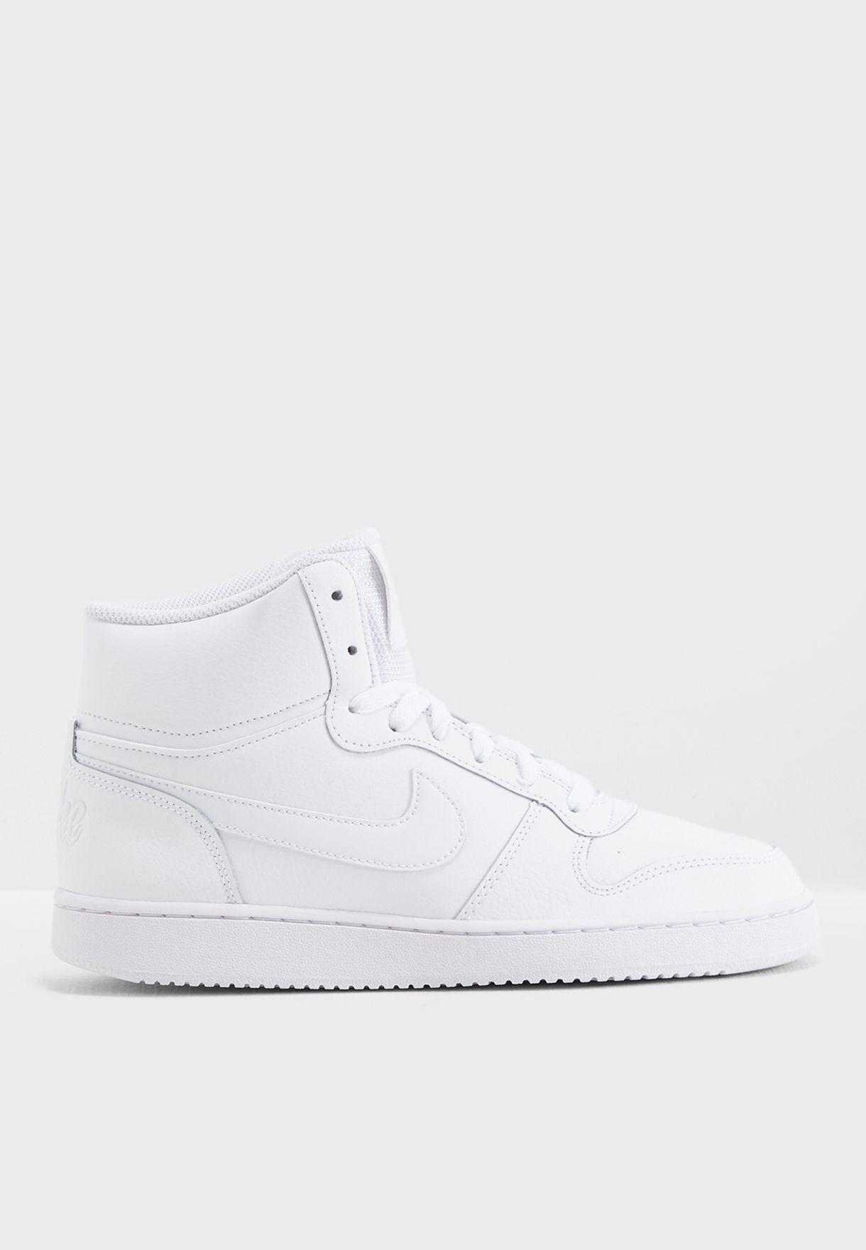 883030f24e93 Shop Nike white Ebernon Mid AQ1778-100 for Women in UAE - NI727SH16QMH