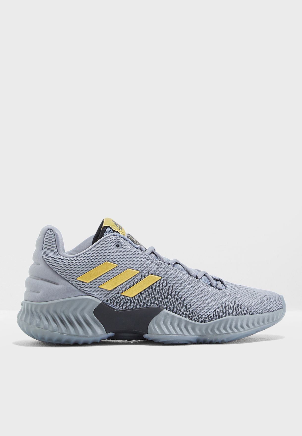 94984373a Shop adidas grey Pro Bounce 2018 Low AH2683 for Men in UAE ...