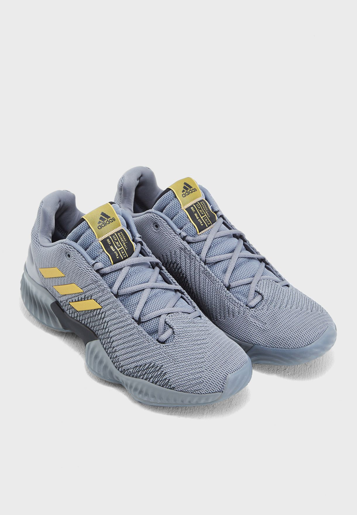 bc682b038d0 Shop adidas grey Pro Bounce 2018 Low AH2683 for Men in UAE ...