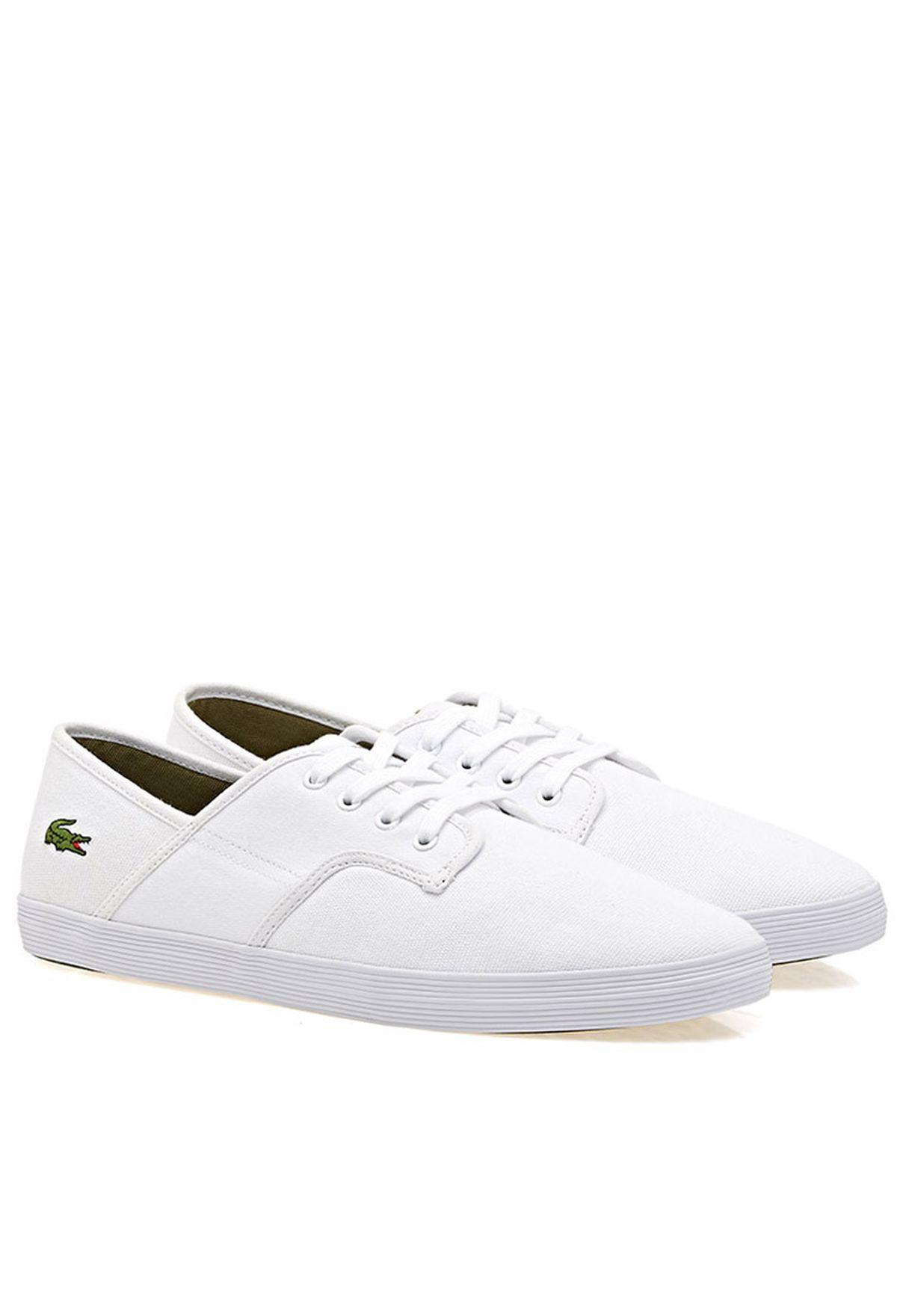 34437da05 Shop Lacoste white Andover Par Low-top Sneakers ANDOVER PAR for Men in  Kuwait - LA014SH16DYD