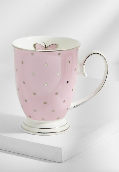 Miss Darcy Butterfly Tea Mug