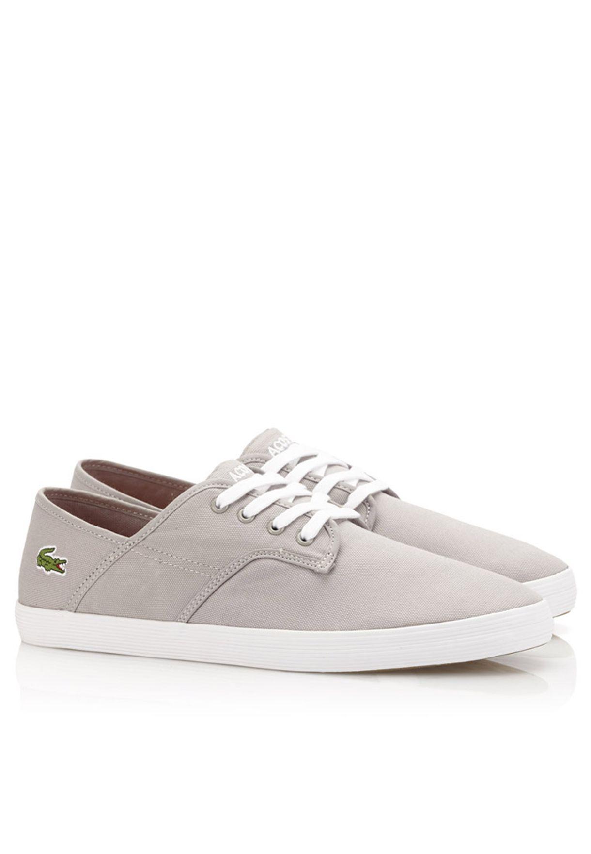 670ac9d7a Shop Lacoste grey Andover Eos Sneakers 28SPM0111-12C for Men in UAE ...