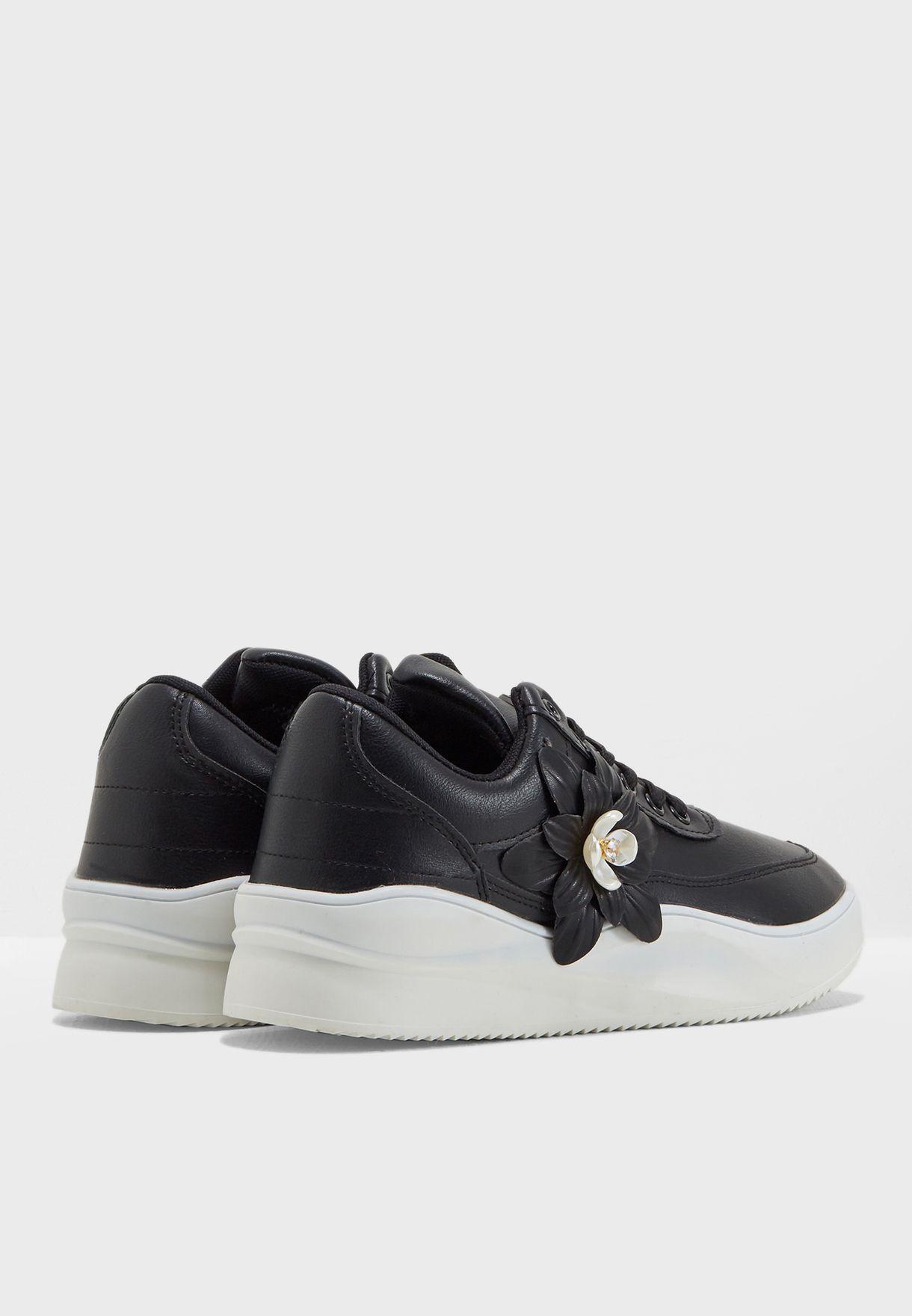 Floral Low Top Sneaker