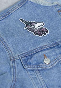 Unicorn Sequin Sticker Patch