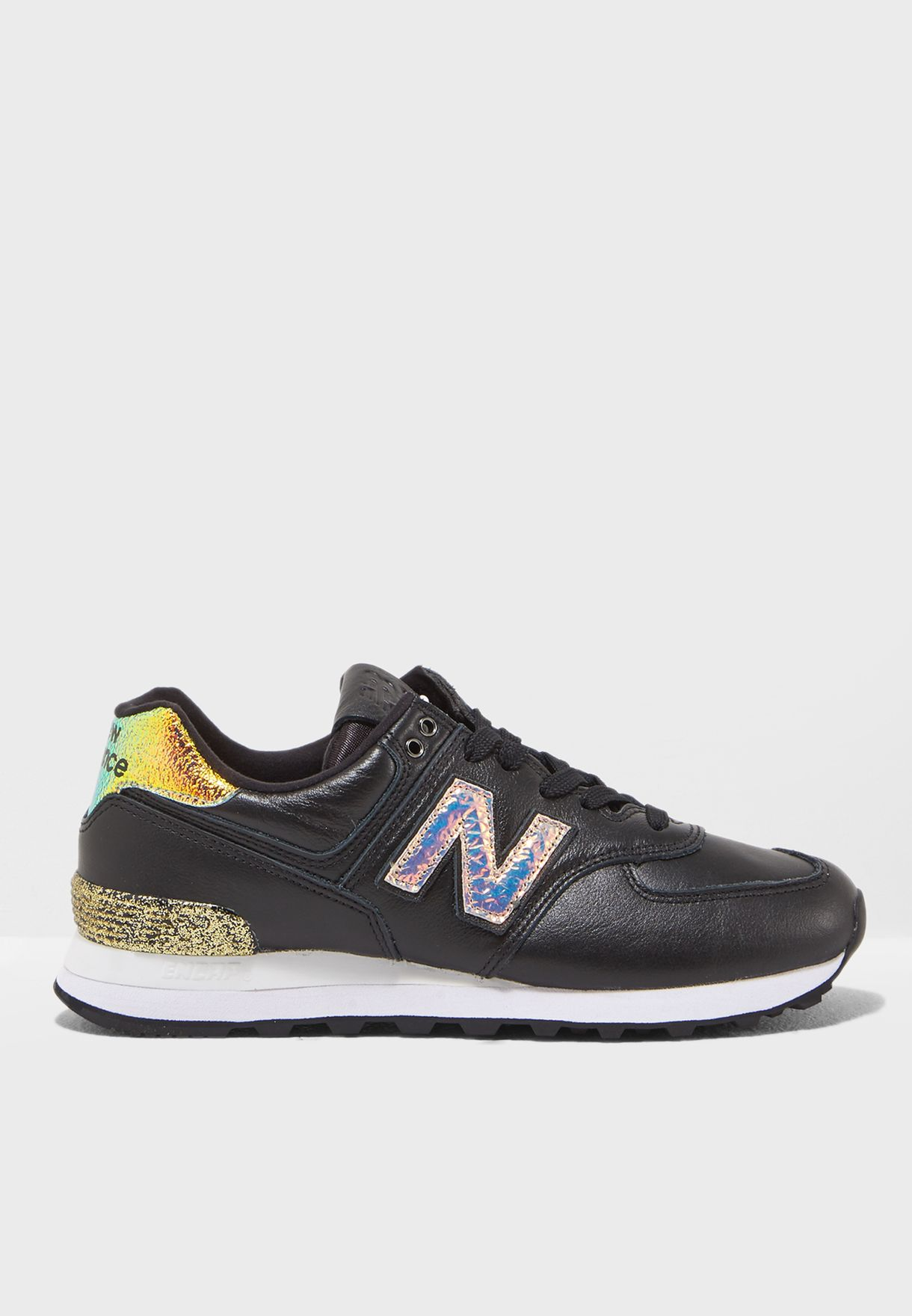 on sale 171a6 3cb68 Shop New Balance black 574 WL574NRH for Women in Saudi - NE011SH16VNF