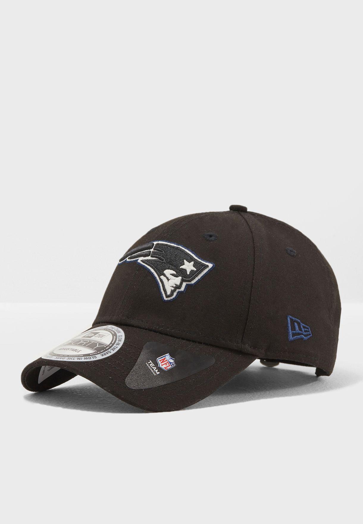 3b93b2084 Shop New Era black 9forty New England Patriots Cap 80536341 for Men in  Qatar - NE207AC16IFB