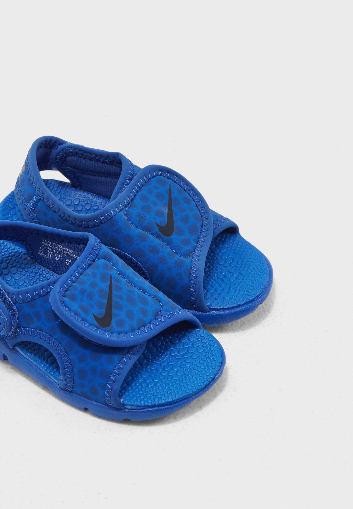 f251f290f3 Shop Nike prints Sunray Adjust 4 Infant 386519-414 for Kids in UAE ...