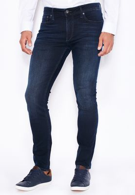 Jack & Jones Kenneth Bennetzen Skinny Fit Dark Wash Jeans