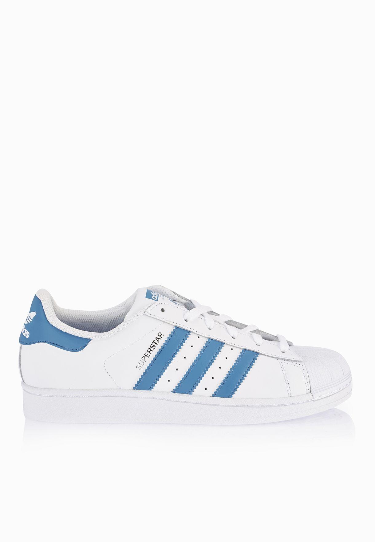 c55fb65d9 تسوق حذاء رياضة سوبر ستار ماركة اديداس اورجينال لون أبيض S75929 في ...