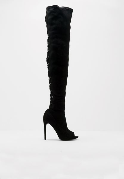 CC Clarke Eclipse Lace Up Over The Knee Boots