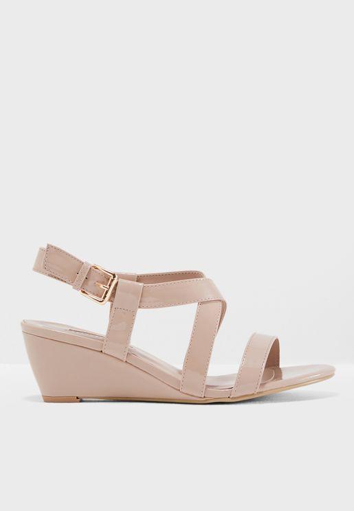 Rosina Wedge Sandals