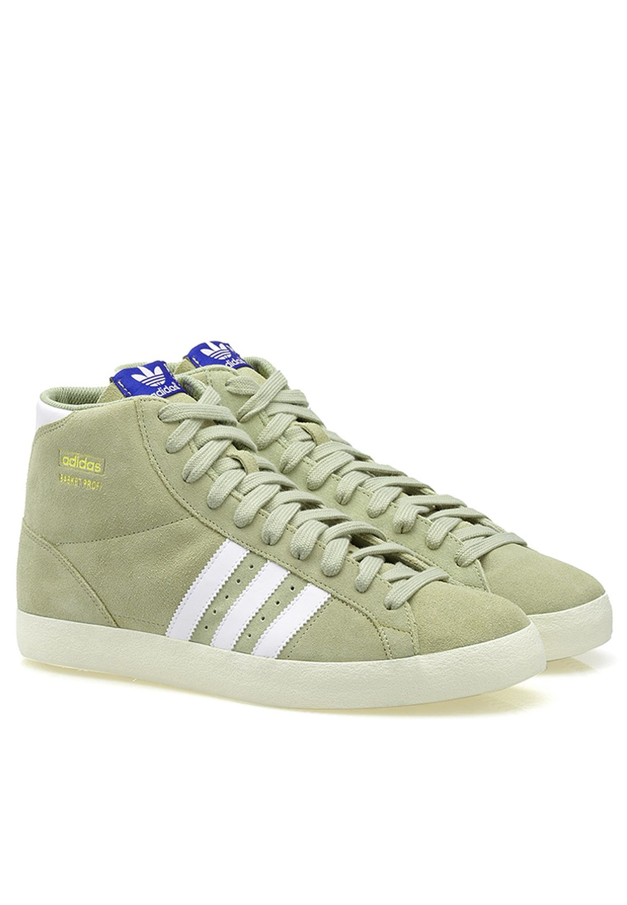 new arrival af4f6 e52b8 Shop adidas Originals green Basket Profi Q23333 for Men in Saudi -  AD476SH16ZYH