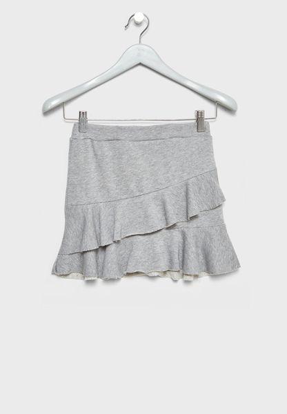 Little Ruffle  Detail Skirt