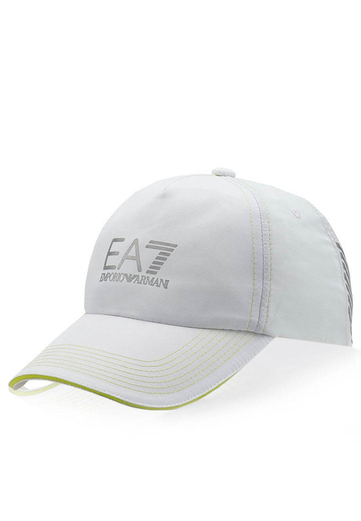 Shop Ea7 Emporio Armani white Golf Cap for Men in Saudi - EA531AC16TEH 1f3e17bd408