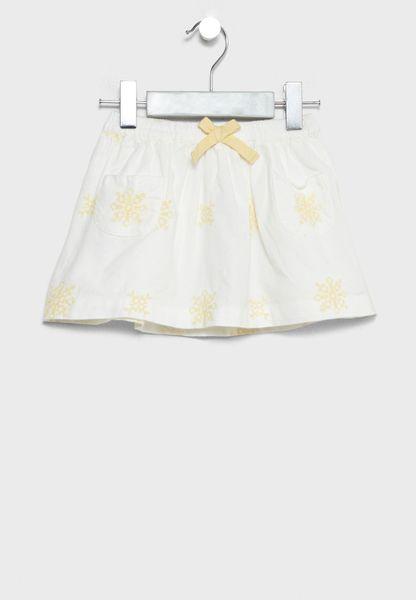 Infant Tie Waist Skirt