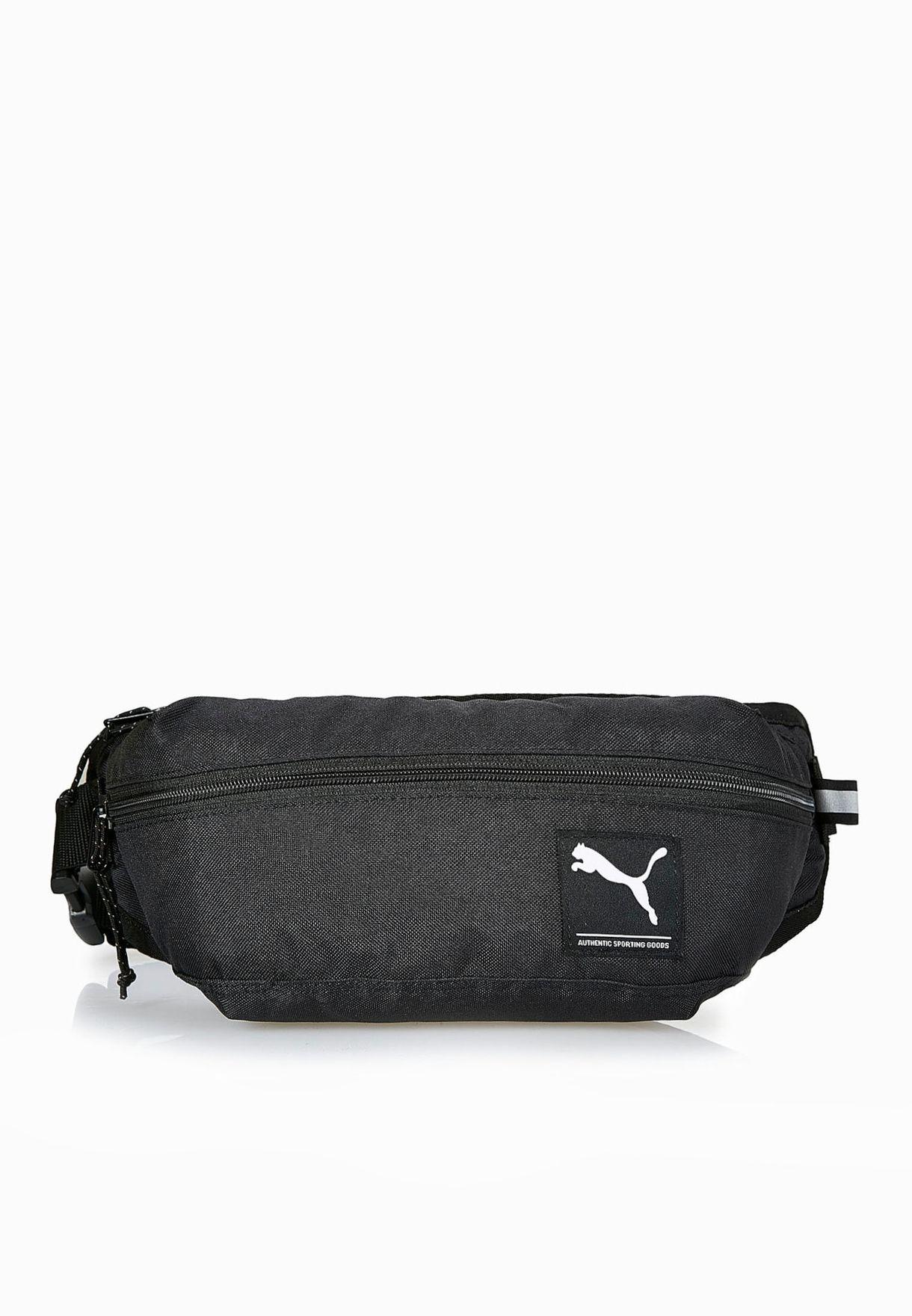 bed9f119c167 Shop PUMA black Academy Waist Bag 7299401 for Men in Saudi - PU020AC16AGT