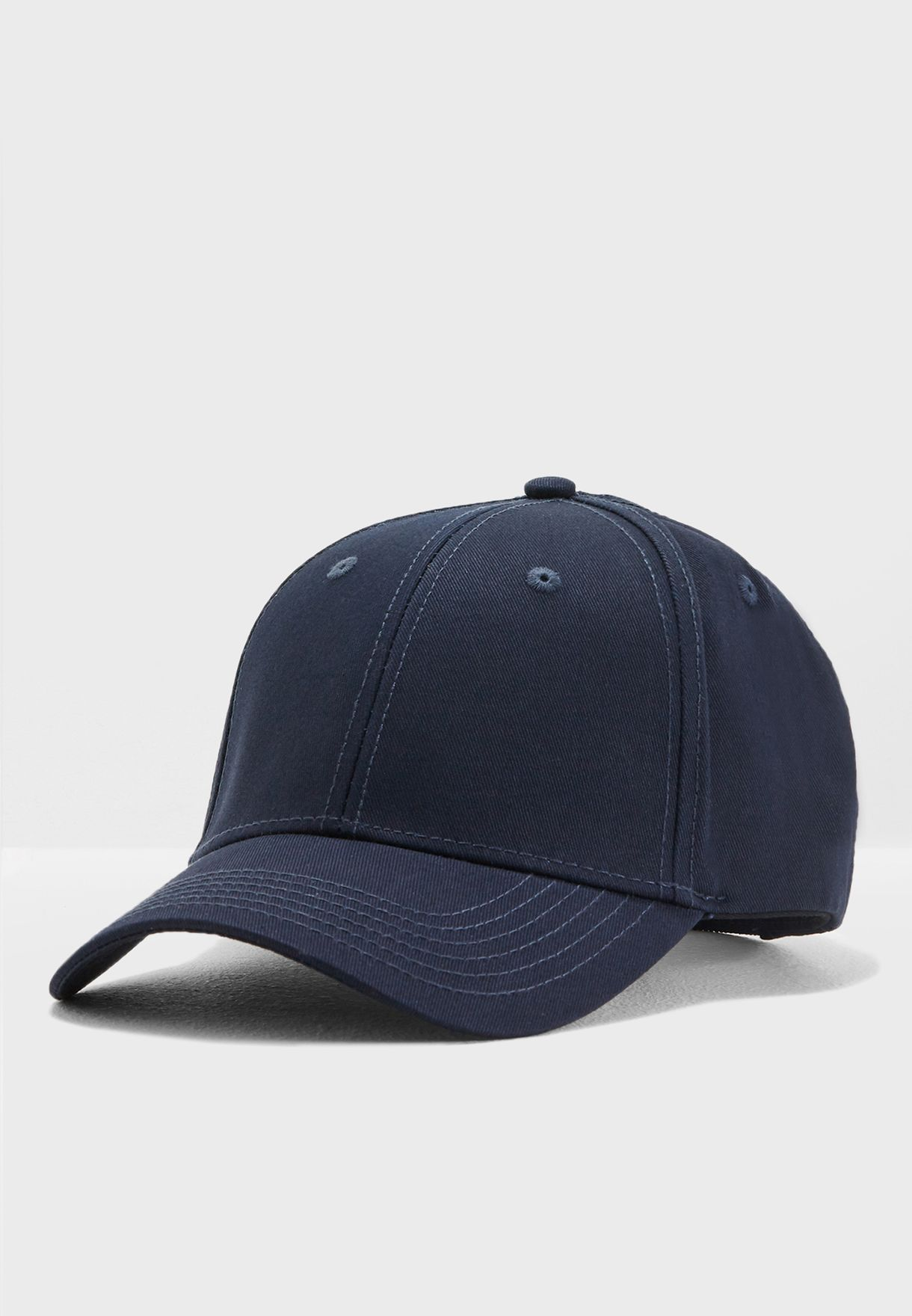 Shop Jack Jones navy Baseball Cap 12133259 for Men in UAE - JA872AC16ZID 29629102c3d