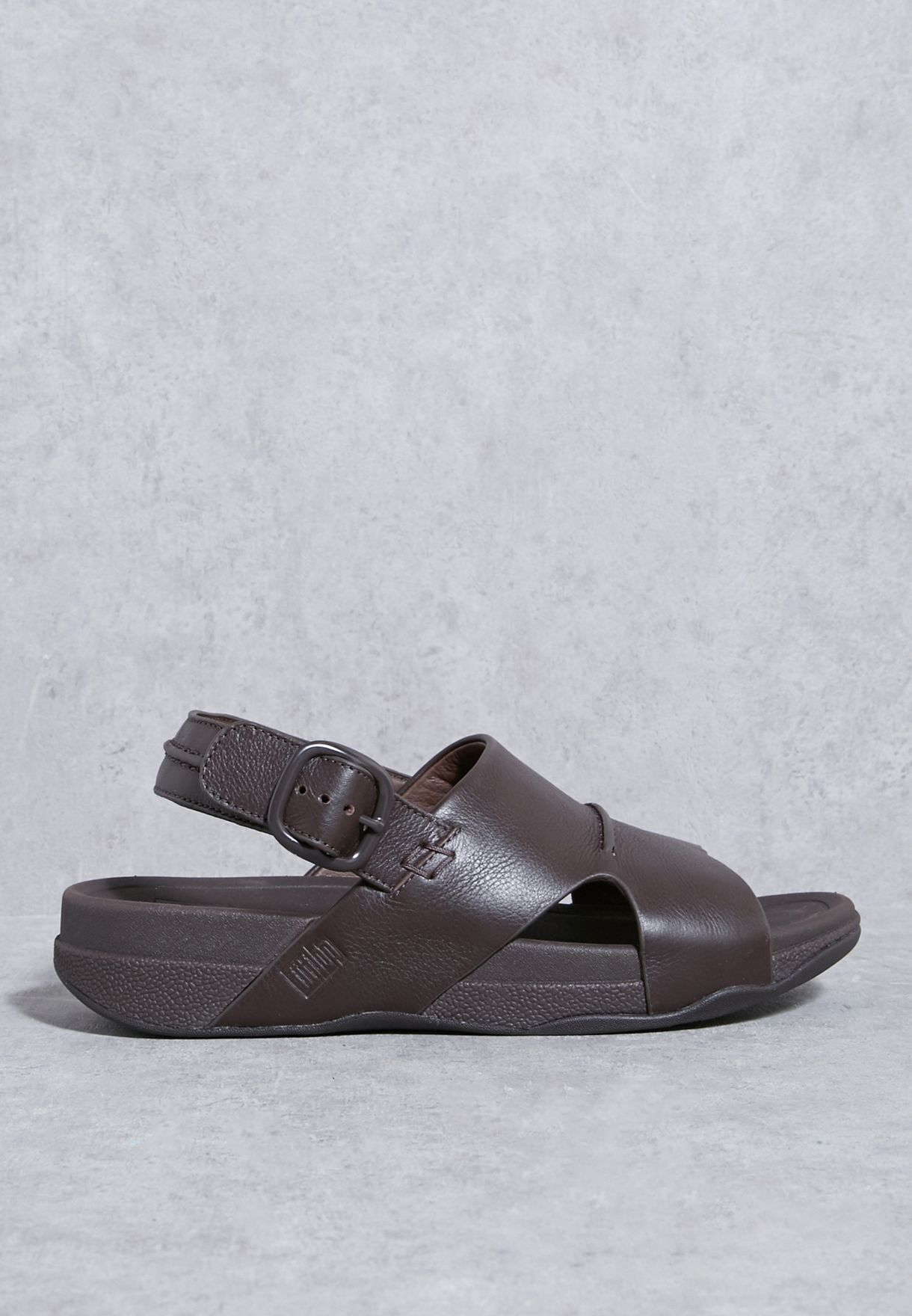 af3158f3cd2c Shop Fitflop browns Bando Sandals E08-030 for Men in UAE - FI008SH16JID