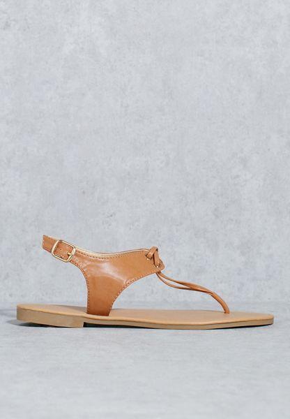 Criss Cross Cord Sandal