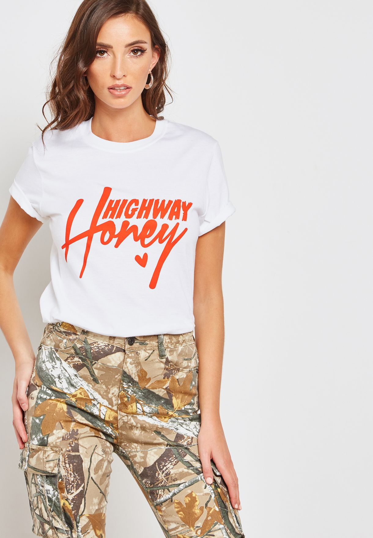 Honey Slogan T-Shirt
