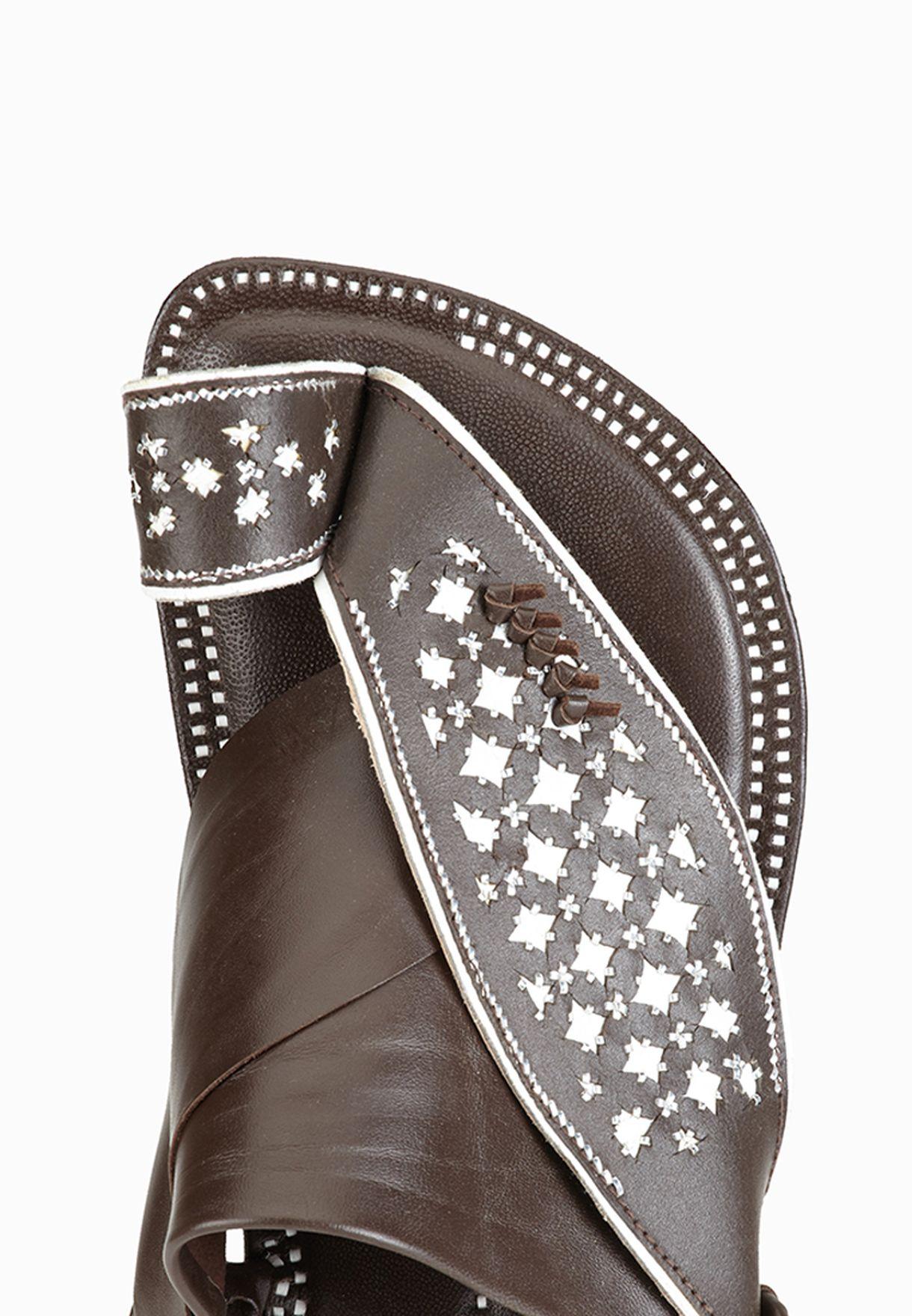 Damas-Bistre Sandals