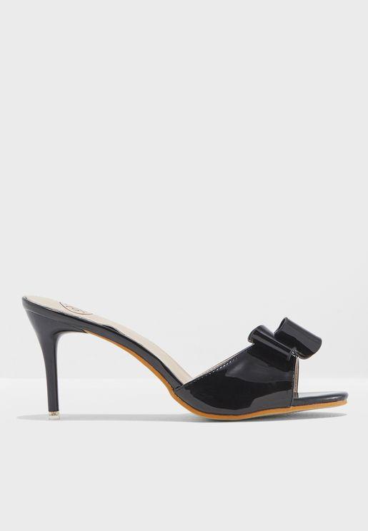 Avys Heeled Sandals