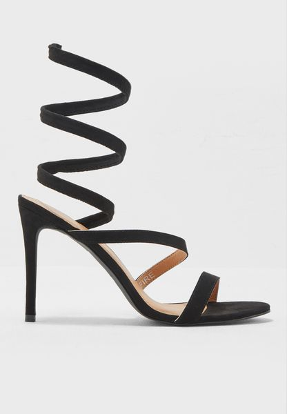 Fire High-Heel Sandals