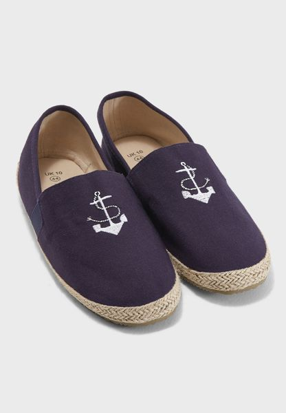 Pirate Anchor  Slip Ons