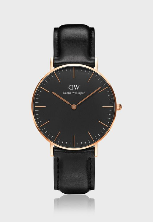 Sheffield Classic Watch 36mm Rose Gold