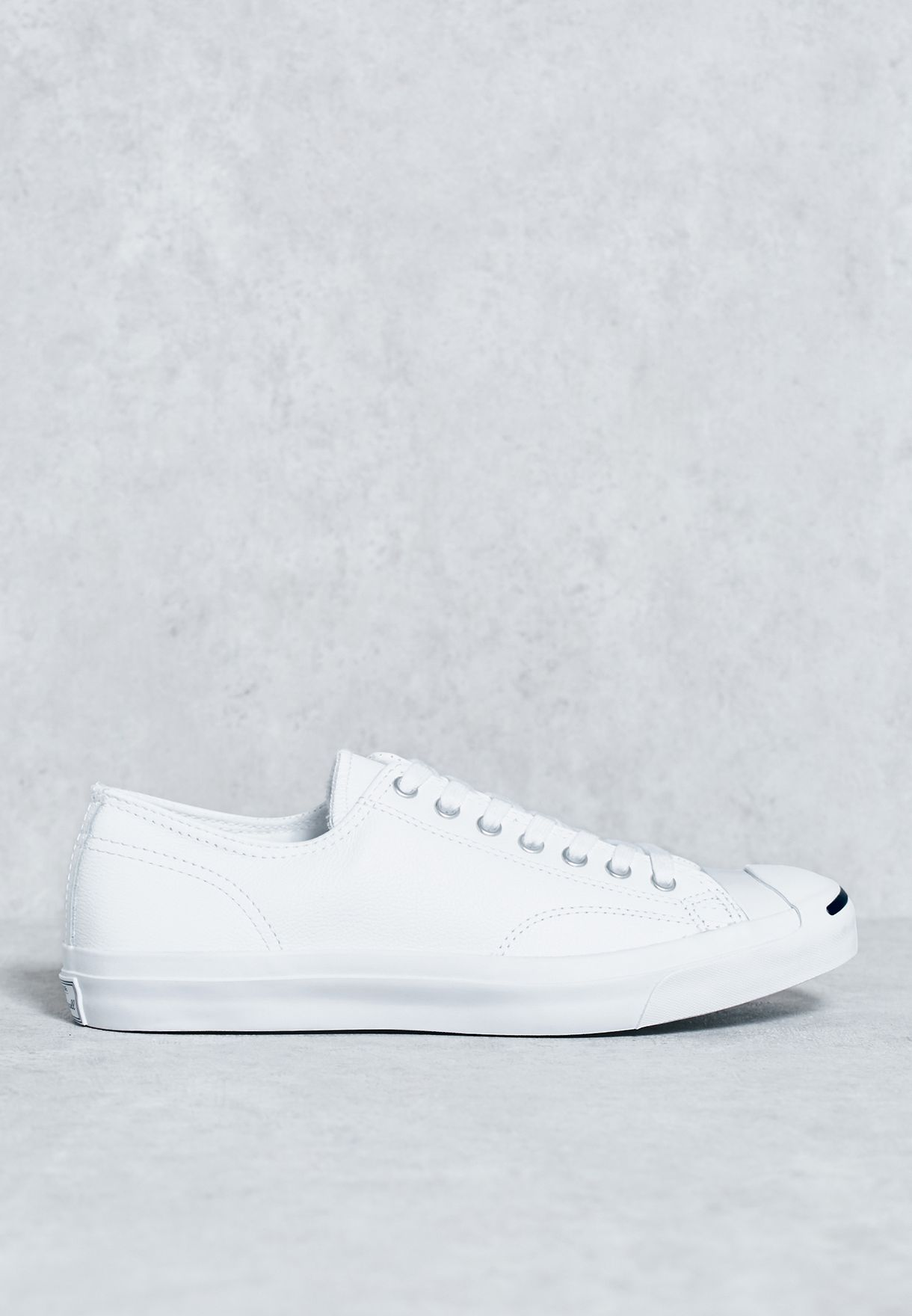 2fb273e45bc0c9 Shop Converse white Jack Purcell Jack Sneakers for Men in Qatar ...
