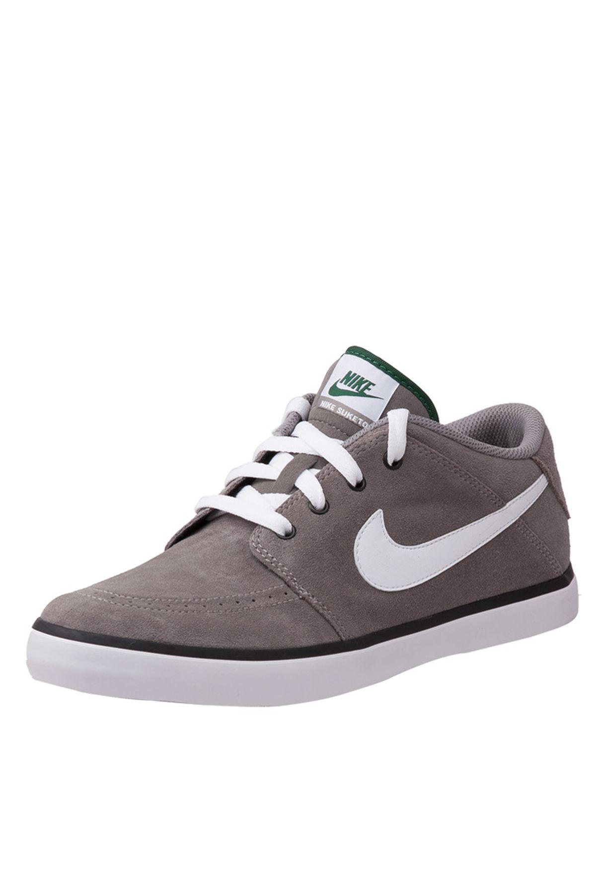 Shop Nike grey Nike Suketo Sneakers 525311-003 for Men in UAE ... 69a17b832335