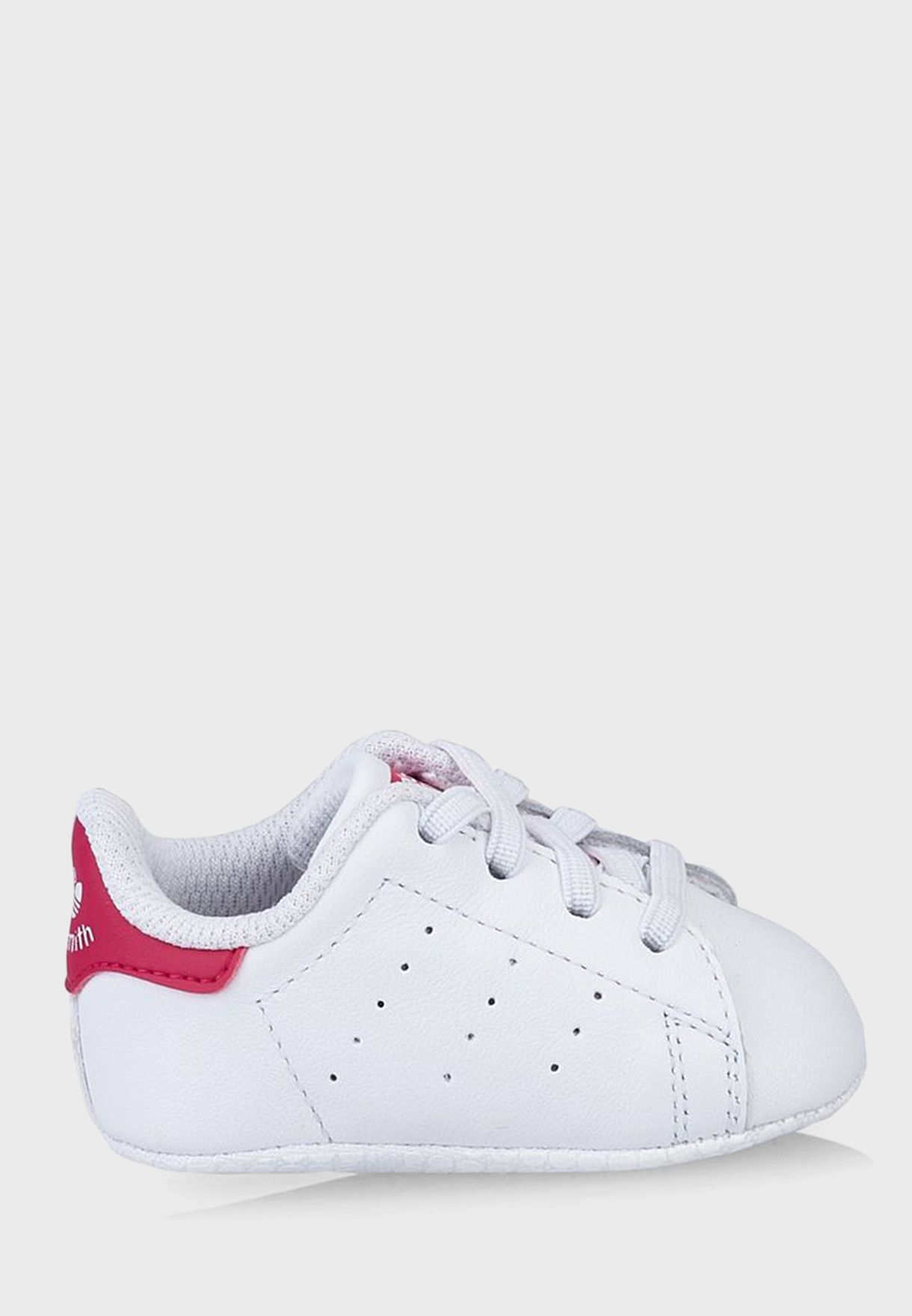 buy popular 07b27 a32cf Shop adidas Originals white Stan Smith Crib S82618 for Kids in Saudi -  AD478SH06QZT