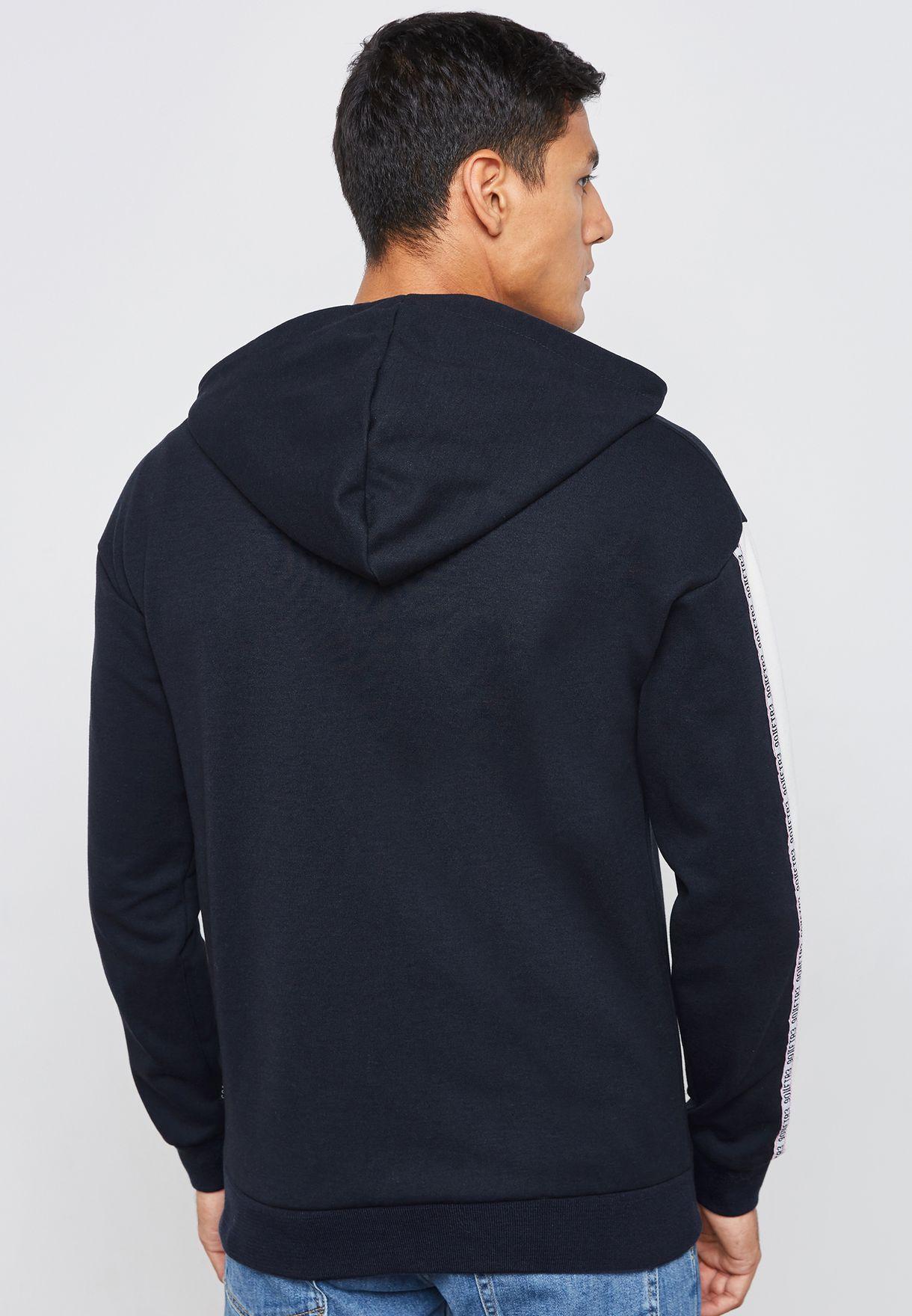 Fin Zip Through Sweatshirt