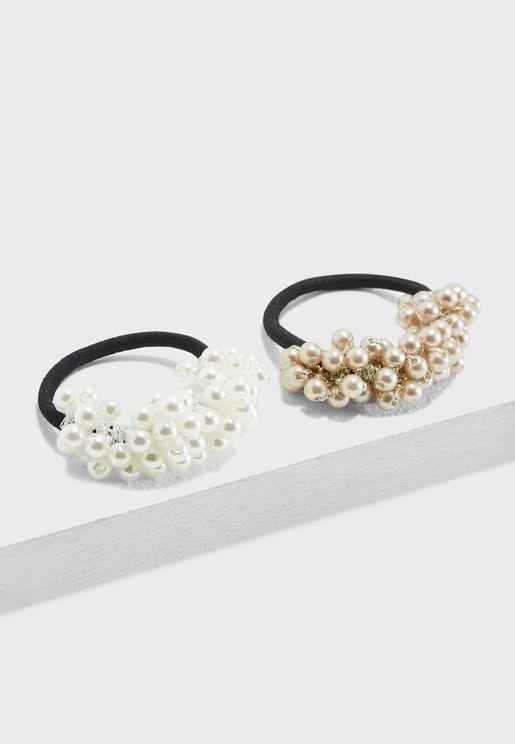 Pearl Detail Headbands